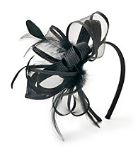 August Accessories® Onyx Fascinators