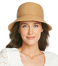 August Accessories® Packable Cloche Hat