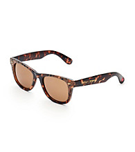 Betsey Johnson® Classic Bohemian Shape with Ombre Leopard Print Sunglasses - Tortoise