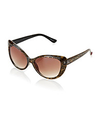 Betsey Johnson® Leopard Cat Eye Sunglasses