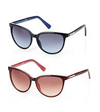 Vince Camuto™ Plastic Cat Eye Sunglasses