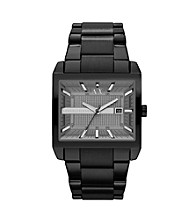 A|X Armani Exchange Men's Black Stainless Steel Smart East West Watch