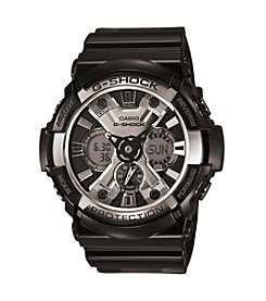 G-Shock Black Analog-Digital Watch with Resin Strap