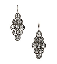 Lucky Brand® Silvertone Chandelier Earrings