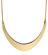 Kenneth Cole® Goldtone Half Moon Frontal Necklace
