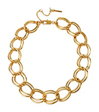 Kenneth Cole® Goldtone Large Link Necklace