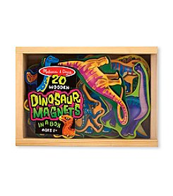 Melissa & Doug® Wooden Dinosaur Magnets