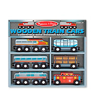 Melissa & Doug® Train Cars