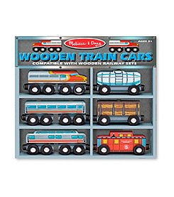 Melissa & Doug® Train Cars