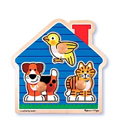 Melissa & Doug® House Pets Jumbo Knob Puzzle