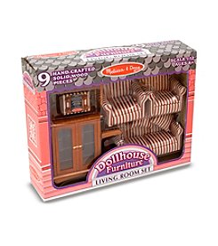 Melissa & Doug® Dollhouse Living Room Furniture