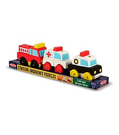 Melissa & Doug® Stacking Emergency Vehicles