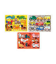 Melissa & Doug® Mix 'N Match Puzzle Bundle