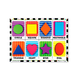 Melissa & Doug® Shapes Chunky Puzzle