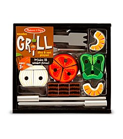 Melissa & Doug® Grill Slice & Sort Playset