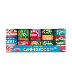 Melissa & Doug® Let's Play House: Grocery Cans