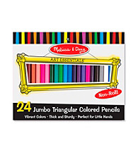 Melissa & Doug® 24-pk. Jumbo Triangular Colored Pencils