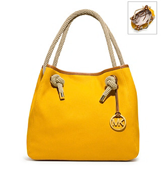 MICHAEL Michael Kors® Marina Large Canvas Grab Bag