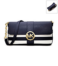 MICHAEL Michael Kors® Fulton Stripe Small Flap