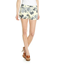 DKNY JEANS® Floral Sunrise Roll Short