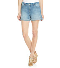 Nine West Vintage America Collection® Roll Cuff Shorts