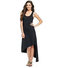 MICHAEL Michael Kors® Sleeveless Scoopneck Asymmetric Tank Dress