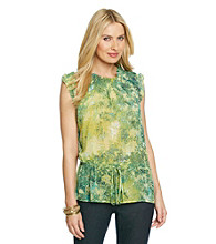 Skye's The Limit® Printed Woven Top