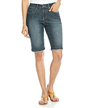 Relativity® Denim Bermuda Short