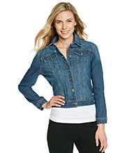 Relativity® Petites' Denim Jacket