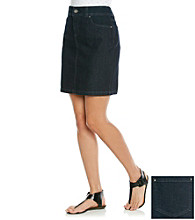 Relativity® Petites' Denim Skirt