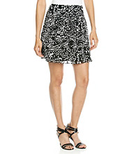 Relativity® Career Printed Skirt