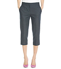 Relativity® Career Denim Capri