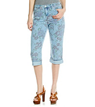 Gloria Vanderbilt® Antique Garden Capri