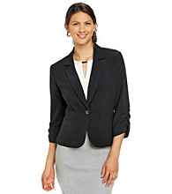 Madison Leigh® Ruched Sleeve Jacket