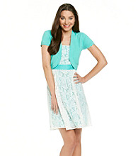 K Studio® Lace Dress With Sweater