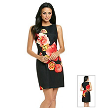 AGB® Floral Print Sheath Dress
