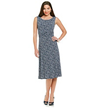 Jessica Howard® Petites' Vine Print Dress