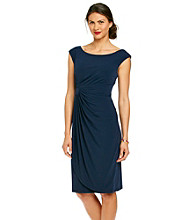 Connected® Side-Drape Dress
