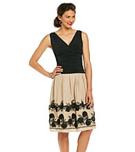 S.L. Fashions Surplice Party Dress