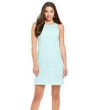 Muse Eyelet Sheath Dress