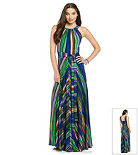 Muse Striped Maxi Dress