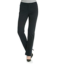 Jones New York Signature® Petites' Lexington Straight Leg Jean