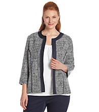 Alfred Dunner® Plus Size Jacket