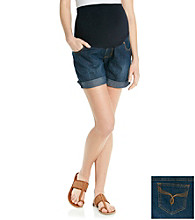 Three Seasons Maternity™ Denim Cuff Short