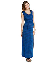 Three Seasons Maternity™ Stripe Maxi Dress