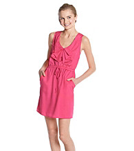 Be Bop Juniors' Drape Neck Dress