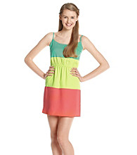 Be Bop Juniors' Color Block Dress