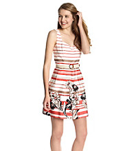 A. Byer Juniors' Stripe Cotton Dress