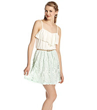 A. Byer Juniors' Spagetti Strap Lace Dress