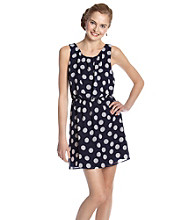 Eyeshadow® Juniors' Polka Dot Dress